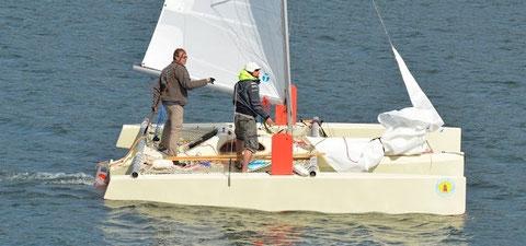 Trimaran Sardine Run 5,50m - Chantier Sardine Boats