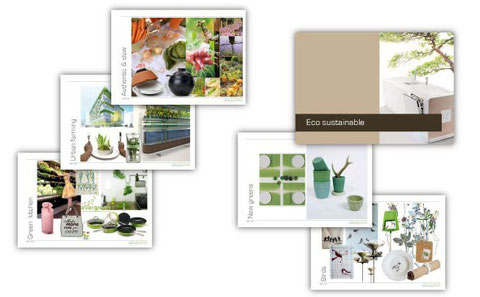 Eco-sustainable trend translated for the kitchen environment.