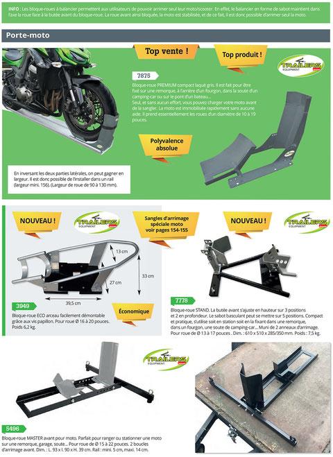 Bloque roue moto et scooter