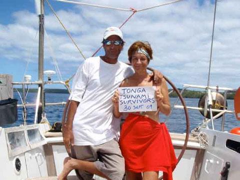 Tongan Tsunami Survivors
