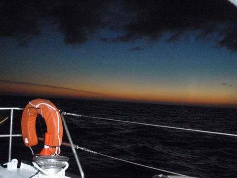 dernier couché de soleil dans l'hemisphère nord