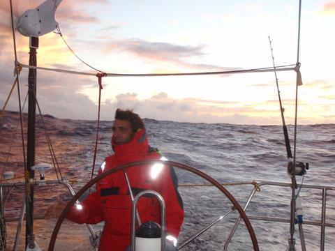 capitaine au lever du jour