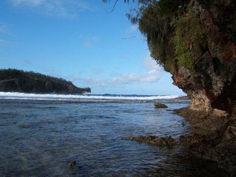 vue sur l'océan de KENUTU