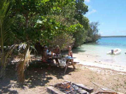 BBQ sur la plage