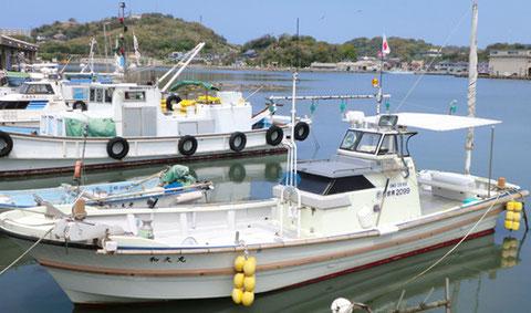 遊漁船 和久丸の仕様(7人乗り)