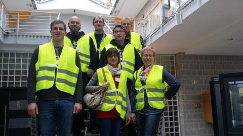 Das komplette Team zur Schulung bei WERU in Triptis