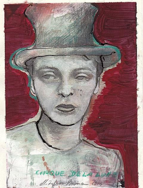 Bild Dame mit Hut