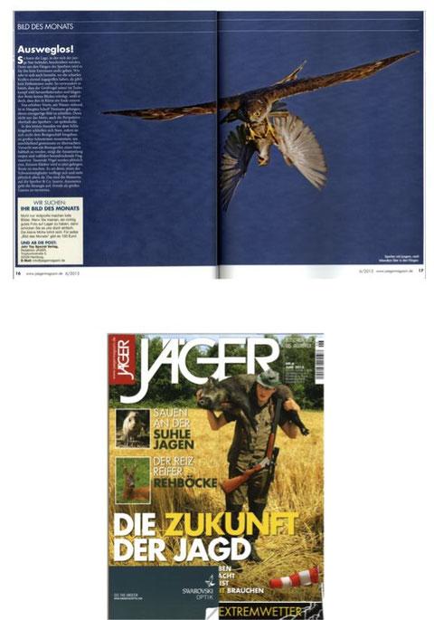 """pubblicazione rivista tedesca JAEGER, pubblished in the german magazin """"JAEGER"""""""