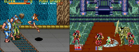 Rushing Beat Shura & Golden Axe III