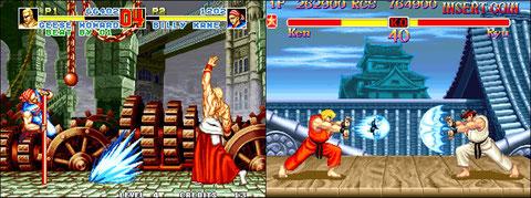 Fatal Fury Special VS Super Street Fighter II: duel au sommet!
