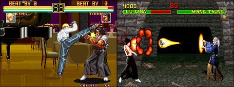 Art Of Fighting Vs Mortal Kombat Us Neo Geo Arcade Retro Games