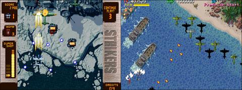 Strikers 1945 + VS 1944 The Loop Master US - Neo Geo, Arcade