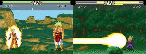 DBZ on Super NES, or how a big license allows to totally botch a game!