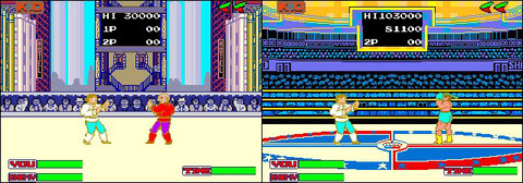 Shangaï Kid by Data East, the first game packing combos and special moves!