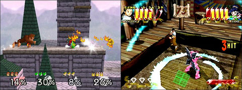 Super Smash Bros and Power Stone, a new pretty fun way of fighting!