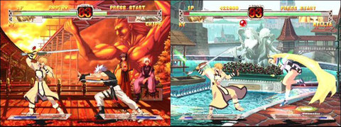 With Guilty Gear X, Arc System's saga conquers its public.