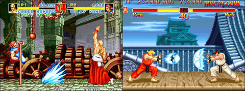 Fatal Fury Special VS Super Street Fighter II: titans battle!
