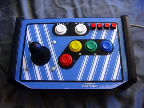 MAS arcade stick