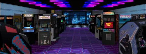 1990's Arcade Room