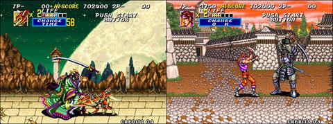 Sengoku 2, 1993, Neo Geo.