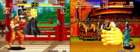 Art of Fighting / World Heroes: parmi les meilleurs VS Fighting de 92.
