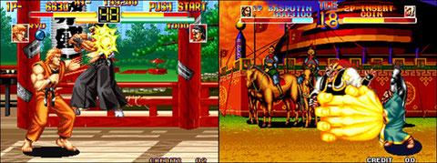 Art of Fighting / World Heroes: parmi les meilleurs VS Fighting de 92.