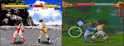 Fatal Fury Wild Ambition / Samurai Shodown 64: Warrior's Rage