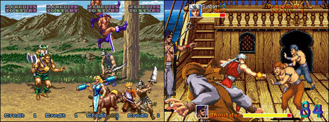 Golden Axe Revenge of Death Adder / Arabian Fight