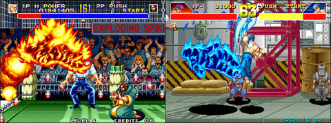 World Heroes 2 VS Power Instinct US - Neo Geo, Arcade ...