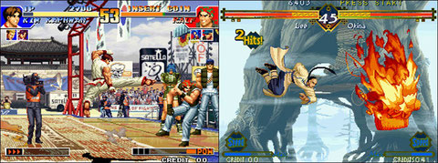 Kof 97 and The Last Blade, only two fighting games this year on Neo Geo.