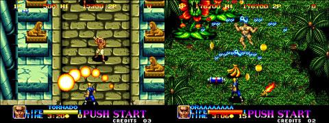 Ninja Commando, 1992, Neo Geo.