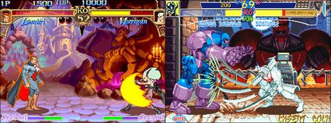 Darkstalkers et X-Men, Capcom donne dans le fantastique!