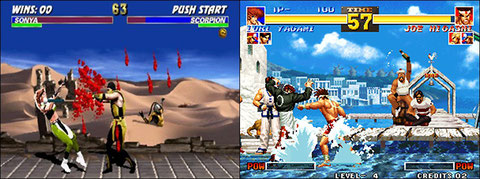 Mortal Kombat III / The King of Fighters 95'