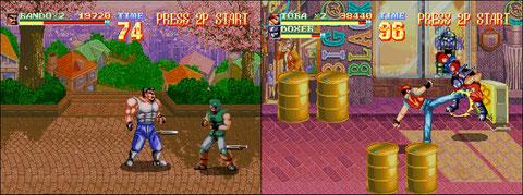 ...et le tout premier Beat them Up sur consoles 32 bits!