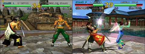 Soulcalibur Dreamcast / Arcade: find the differences!