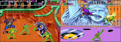 Turtles in Time, Arcade, 1991.
