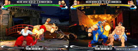 Capcom VS SNK, the dream became reality.