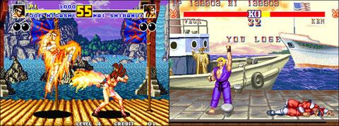 Fatal Fury 2 / Street Fighter II CE: la guerre a commencé!