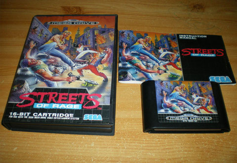 A Streets of Rage back from holidays in Venice...
