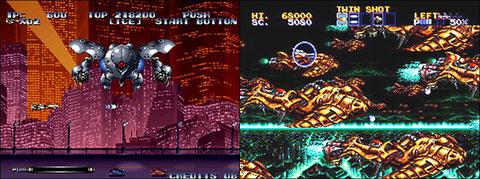 Last Resort & Thunderforce IV