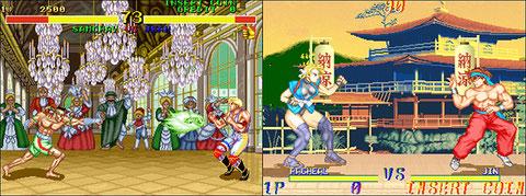 Fighter's History / Martial Champion, deux jeux sympathiques... sans plus.