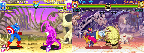 Marvel Super Heroes / Night Warrior's: Darkstalkers Revenge