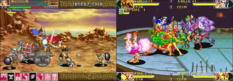 Dungeons & Dragons: Shadow over Mystara / Battle Circuit