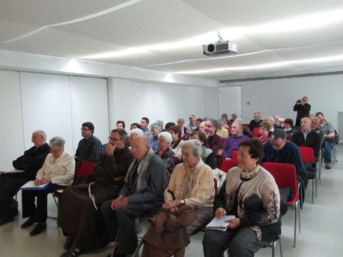 Jornada del 25 de febrer 2012.  (Fotografies gna. Montserrat Linares)