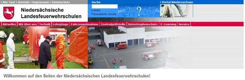 Feuerwehr Landesschulen Niedersachsen