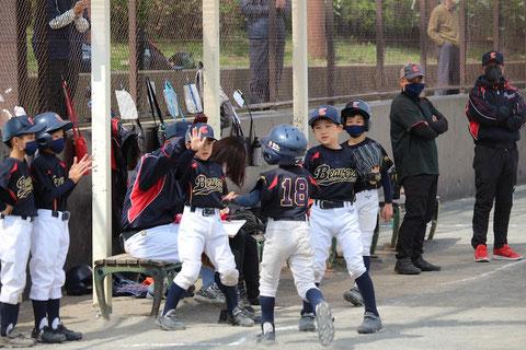 2021年3月20日天屋 神奈川区少年野球 練習試合 ビーバーズ対峯二オーシャンズ