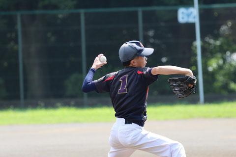 2021年7月17日 神奈川区少年野球 春季大会 天屋ビーバース対反町ゴールドファイヤー