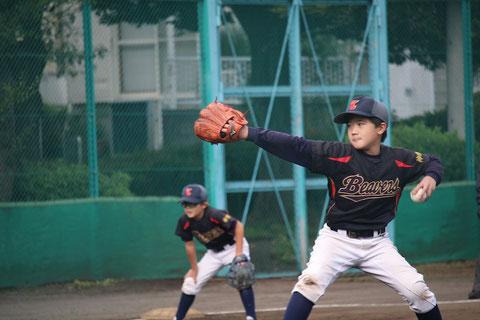 2020年10月24日 神奈川区 少年野球 秋季新人戦 天屋ビーバーズ対菅南フォックス