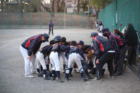2020年11月21日 神奈川区少年野球 練習試合 天屋ビーバーズ対前田タイガース