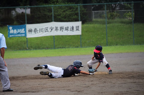 2020年9月13日 神奈川区少年野球 秋季大会 天屋ビーバーズ対菅東ドラゴンズ
